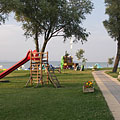 A slide for the kids on the beach - Balatonlelle, Maďarsko
