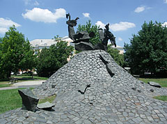 "The ""Hungarian Golgotha"" World War II memorial - Szolnok, Maďarsko"