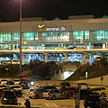 Budapest Liszt Ferenc Airport, Terminal 2B, viewed from the parking lot - Budapešť, Maďarsko