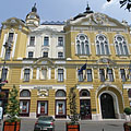 Facade of the City Hall of Pécs - Pécs, Macaristan