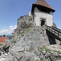 Gate tower of the inner castle - Visegrád, Macaristan