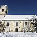The Roman Catholic Church of St. John the Baptist (sometimes called Castle Church) - Szentendre, Ungaria