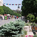 Landscaped pedestrian mall (or street) - Keszthely, Hungria