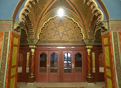 The Uránia Film Theatre is a moorish style movie palace (or picture palace, cinema) - Budapest, Hongrie