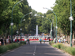 The southern exit road of the island - Budapest, Hongrie