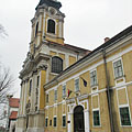 The Assumption of Mary Parish Church and the Town Hall of Szentgotthárd - Szentgotthárd, Hongrie