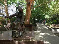 Statue of Franz Liszt (or Ferenc Liszt) Hungarian composer and pianist - Budapeszt, Węgry