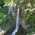 The great waterfall of Lillafüred, where the Szinva Stream falls down 20 meters vertically - Lillafüred, Węgry