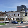 The totally revamped, modern building of the Gárdonyi Géza Theatre - Eger (Эгер), Венгрия