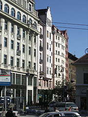 Here starts one of the pedestrian streets - Budapest, Ungarn