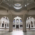 The lobby and the great hall (atrium) - Budapest, Ungarn