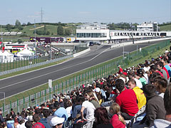 Grandstand at the end of the home-straight - Mogyoród, Ungarn