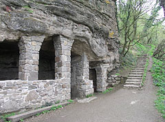 Monk Dwellings from the 11th century - Tihany, Ungarn