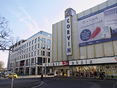 The Europeum and the Corvin shopping centers - Budapest, Ungarn