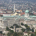 The Buda Castle with the Royal Palace, as seen from the Gellért Hill - Budapest, Ungari