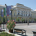 The City Hall on the main square, which was formerly a marketplace - Szolnok, Ungari