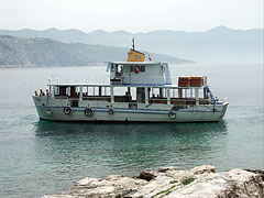A small excursion boat - دوبروفنيك, كرواتيا