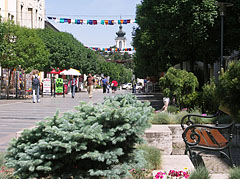 Landscaped pedestrian mall (or street) - Keszthely, هنغاريا