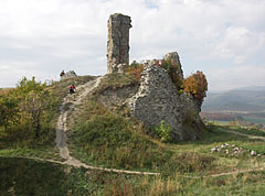 The remains of the Inner Castle - Nógrád, هنغاريا