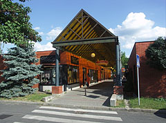 Covered shopping arcade - Ajka, Hungary