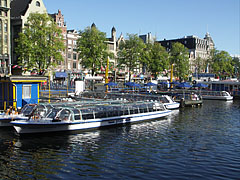 Excursion boat harbour - Amsterdam, Netherlands