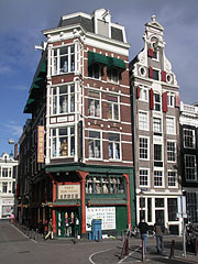 Trading house in the Chinatown Quarter - Amsterdam, Netherlands