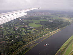 Over the surroundings of Amsterdam - Amsterdam, Netherlands