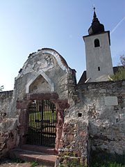 Fortified Reformed Church, stands on 12-13. century Romanesque foundations - Balatonalmádi, Hungary