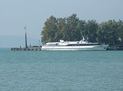 "The ""Lelle"" motorized excursion boat - Balatonfüred, Hungary"