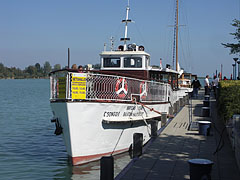 "The ""Csongor"" motorized excursion boat - Balatonfüred, Hungary"