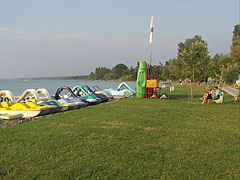 Free beach of Balatonlelle - Balatonlelle, Hungary