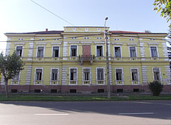The neoclassical-eclectic style former building of the Town Court - Barcs, Hungary