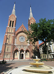 The Roman Catholic Church of St. Anthony of Padua in the inner city - Békéscsaba, Hungary