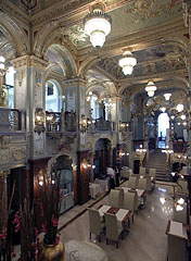 The Deepwater Restaurant within the New York Café - Budapest, Hungary