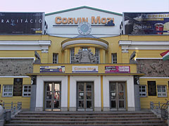 The entrance of the Corvin Cinema - Budapest, Hungary