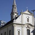 The Roman Catholic Downtown Franciscan Church - Budapest, Hungary