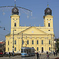 Great Calvinist Church of Debrecen (Nagytemplom) - Debrecen, Hungary