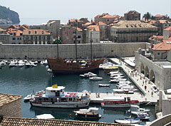 The City Harbour and the Small Arsenal - Dubrovnik, Croatia