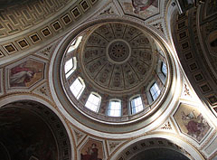 The dome of Esztergom Basilica viewed from the inside - Esztergom, Hungary