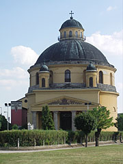 "Saint Anne parish church (""Round church"") - Esztergom, Hungary"