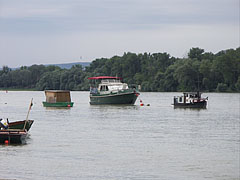 River Danube at Alsógöd settlement - Göd, Hungary