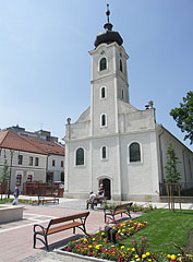The Reformed (Calvinist) Church of Gödöllő on the main square - Gödöllő, Hungary