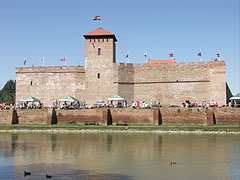 The Gyula Castle on the lakeshore - Gyula, Hungary