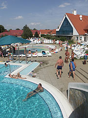The outdoor amusement pool and other pools - Kehidakustány, Hungary