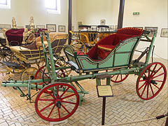 Carriage Museum of Keszthely, Hungarian bride coach from around 1770 - Keszthely, Hungary