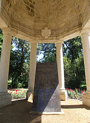The memorial pavilion of the Festetics family (the Helikon memorial monument) - Keszthely, Hungary