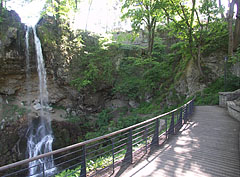 The Waterfall Terrace with the Great Szinva Waterfall - Lillafüred, Hungary