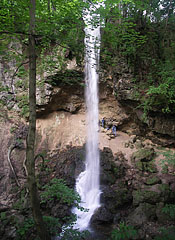 The 20-meter-high waterfall of Lillafüred is the highest waterfall in the present Hungary - Miskolc, Hungary