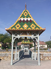 Main square - Mogyoród, Hungary