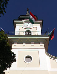 The tower of the Town Hall - Nagykőrös, Hungary